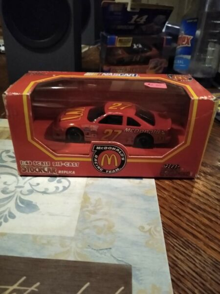 1992 Racing Champions 1:43 Scale Die cast #27 McDonalds Ford Thunderbird