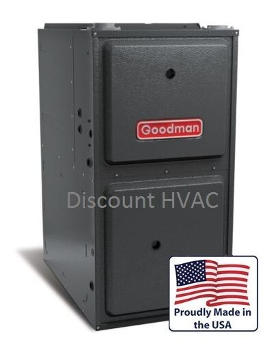 80000 BTU Goodman 2 Stage ECM Gas Furnace 96% Upflow Horizontal gmec960803bn $1448.00
