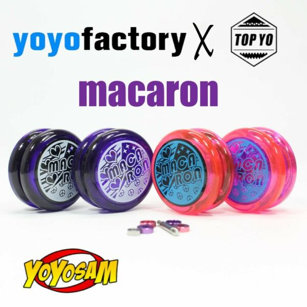 YoYoFactory x TOP YO Macaron Yo Yo 720 Looping 2A YoYo with CNC Spacer Kit $18.00