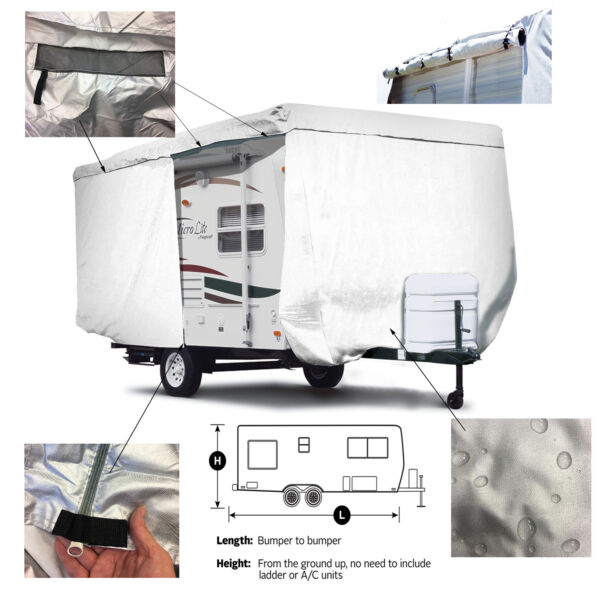 ShieldAll™ Coleman RV Expedition CTS 191QB Travel Trailer Camper Storage Cover $269.95
