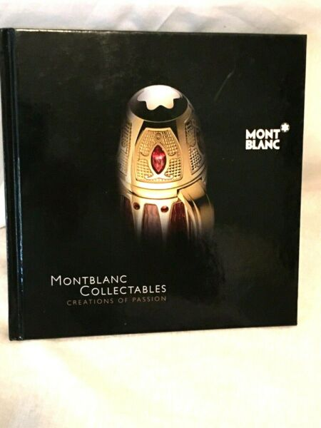 MONTBLANC COLLECTABLES Creations of Passion limited edition book Mont Blanc pens
