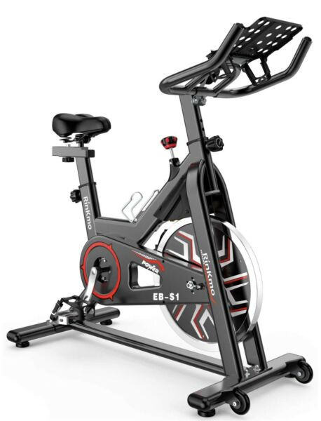 RINKMO Bike Indoor Stationary Bike with Pad Holder Super Silent Exercise $249.99