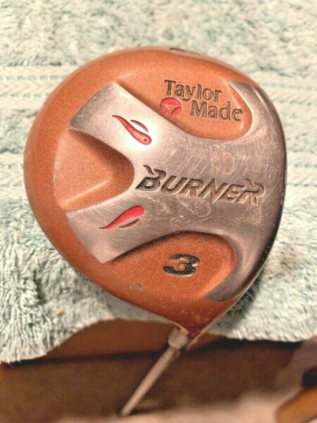 TAYLORMADE BURNER 3 FAIRWAY BUBBLE REGULAR 80 PLUS GRAPHITE SHAFT RIGHT HANDED