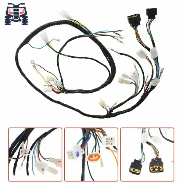 New Wire Harness Assy For Yamaha Warrior 350 YFM350X 1997 2001 3GD 82590 40 00 $52.48