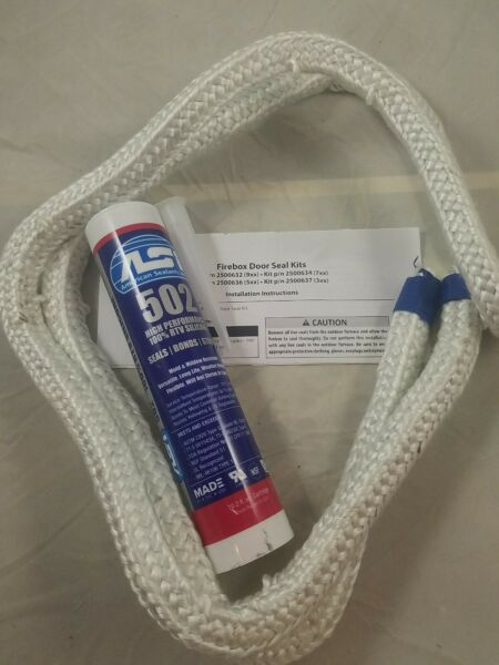 Central Boiler Classic Edge 550 Door Seal Kit with Silicone NEW STYLE $48.95
