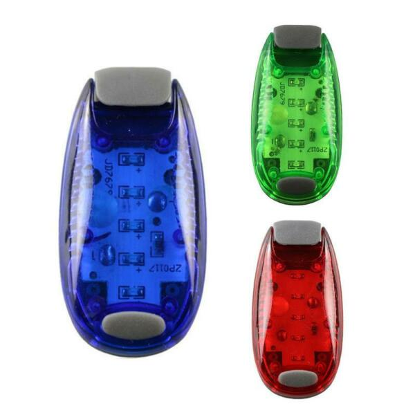 Reflective Clip Running Lamp 5 LED Bicycle Safety MTB LED Light Bike Accessories $2.81
