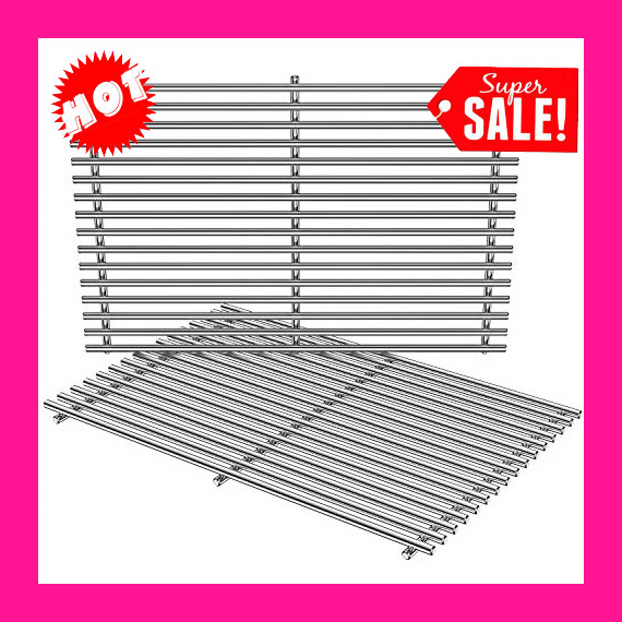 Replacement BBQ Stainless Steel Cooking Grill Grates for Weber Genesis Spirit