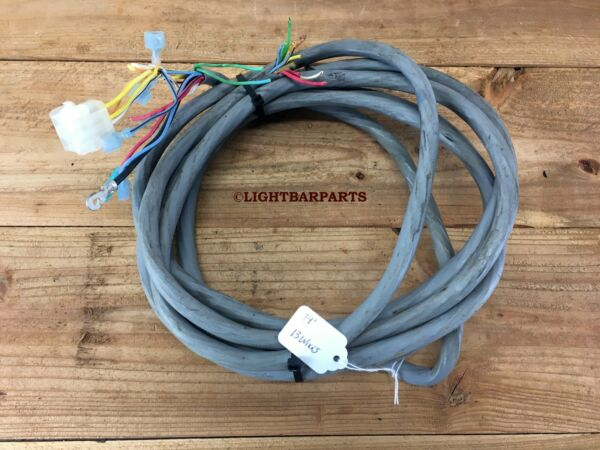 Code 3 Federal Signal Whelen Lightbar 13 Wire Harness Wire Loom 14 Feet