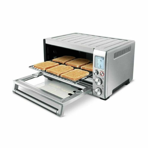 Breville Smart Oven Pro BOV845BSS 1800W Convection Oven Brushed Stainless...