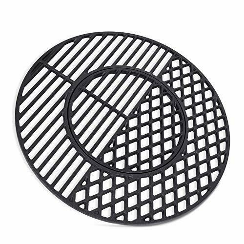 X Home 8835 Cast Iron Grill Grates for Weber 22.5quot; Charcoal Grills 21.5quot; x 21.5quot;
