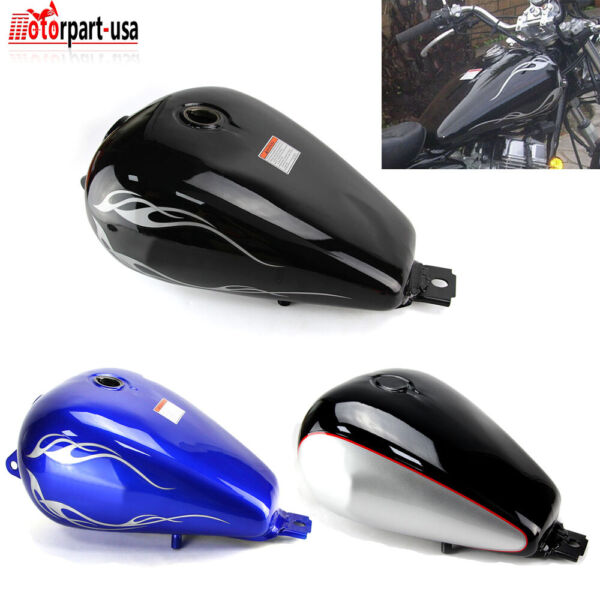 Fuel Gas Tank 3.4 Gallons For Honda Rebel 250 CMX250 1985 2016 2015 2014 3 Style $109.95