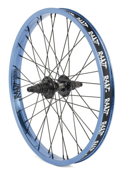 RANT PARTY ON BMX BIKE BIKE 20quot; REAR WHEEL FIT HARO GT SHADOW SUBROSA BLUE RHD $144.99