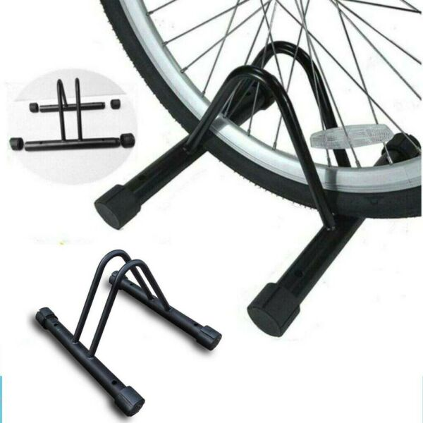 Bicycle Bike Floor Parking Storage Stand Rack Wall Mount Holder Black $34.70