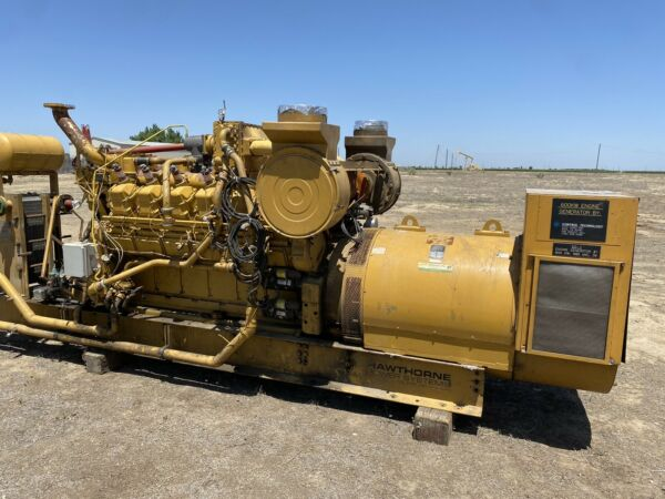 600 kW CAT G3512 Natural Gas Generator Sets 1200 RPM 2 AVAILABLE $21000.00