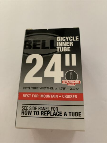 BELL Bicycle Inner Tube 24quot; Mountain Cruiser Standard Schrader Valve 1.75quot; 2.25quot; $7.60