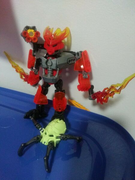 LEGO Bionicle Protector of Fire Set 70783 No Instructions No Box