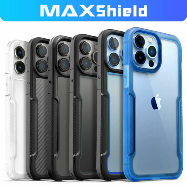 For iPhone 12 11 Pro Max Mini Case Shockproof Heavy Duty Clear Hard Slim Cover