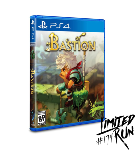 Bastion Limited Run Games #174 PlayStation 4 Brand New Factory Sealed $52.99