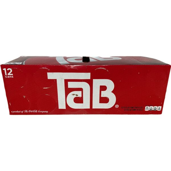 Tab Soda 12 Pack Soft Drink 12 Pack Tab Soda Exp: July 5th 2021