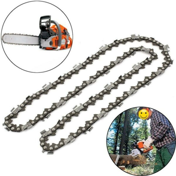 16 18 20 Chainsaw Chain Blade Saw Steel Cutter For Baumr AG Husqvarna Tool C $19.30