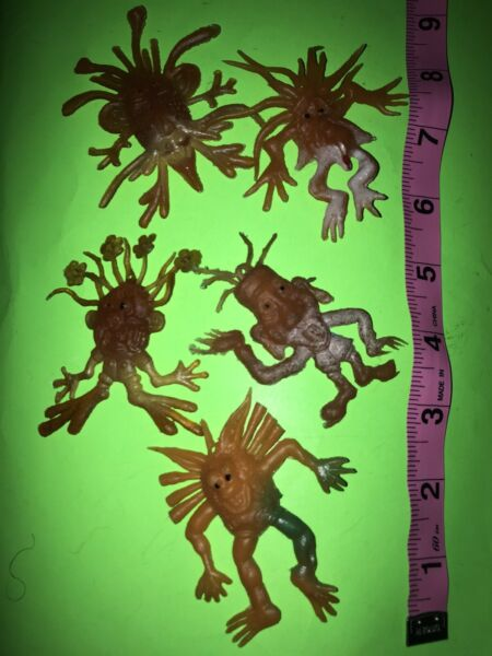 Vintage Vending Aliens Rubber Jigglers Spooky Ghoulish Creatures Read All