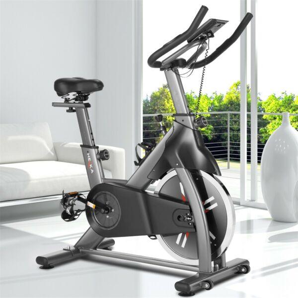 Indoor Exercise Bike Home Stationary Cycling Flywheel Magnetic Resistance 400lb $285.99