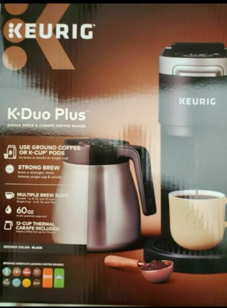 Keurig® K Duo Plus™ Coffee Maker with Single Serve K Cup Pod amp; Carafe Brewer
