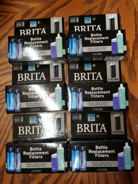 Brita Replacement Filters for Hard Sided amp; Sport Bottles Lot of 6 2 Packs