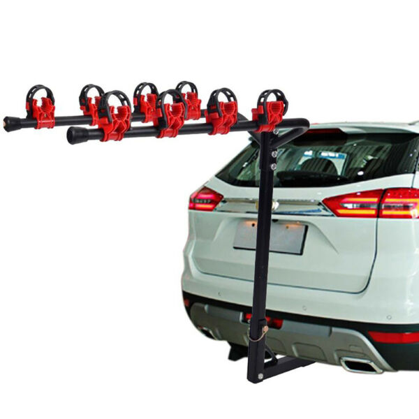 4 Bicycle Bike Rack Hitch Mount Carrier 1 1 4quot; 2quot; For Car Truck AUTO SUV Swing $51.99