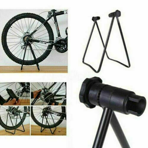 Bicycle Trainer Stationary Bike Cycle Stand Indoor Exercise Training Foldable $25.39