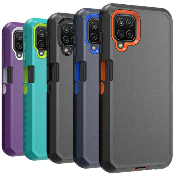 For Samsung Galaxy A21S A12 5G Phone Case Heavy Duty Shockproof Defender Cover
