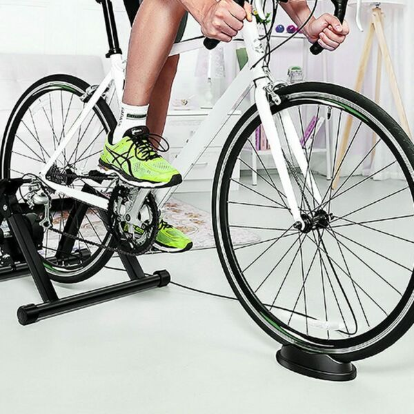 5 Level Resistance Magnetic Indoor Bicycle Bike Trainer Exercise Stand Black $15.99