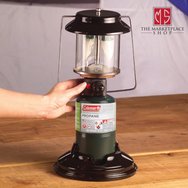Coleman 2 Mantle Quickpack Propane Fuel Lantern with Case 810 Lumens $46.95