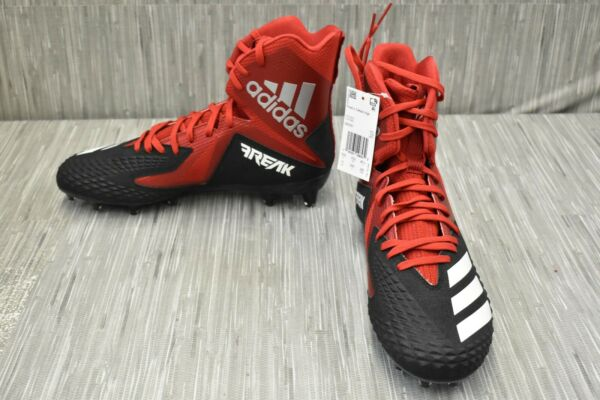 adidas Freak x Carbon High DB0257 Football Cleats Men#x27;s Size 11M Red NEW $25.03
