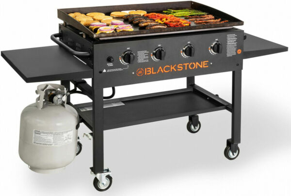 Outdoor Grill Blackstone 36quot; Inch Gas Griddle Cooking Station Easy Ignition New