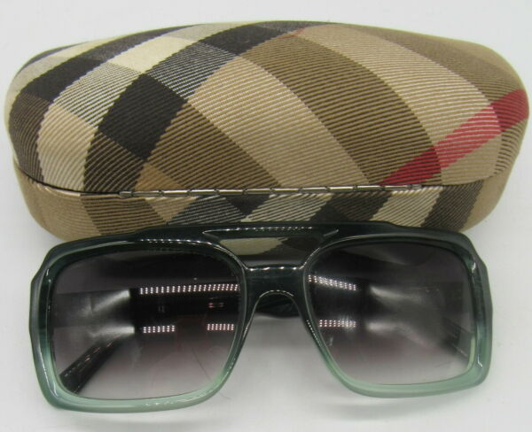 BURBERRY green square frame sunglasses $85.00