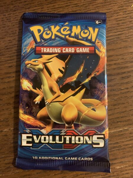 Pokemon TCG XY Evolutions Trading Card Booster Pack Any Artwork