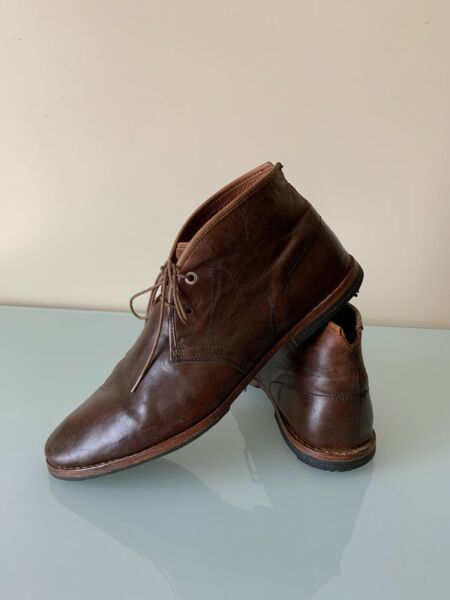 Timberland Boot Company 75509 Wodehouse Chukka Brown Leather Boots Mens Size 11M $52.00