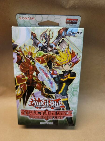 YuGiOh power code link Structure Deck