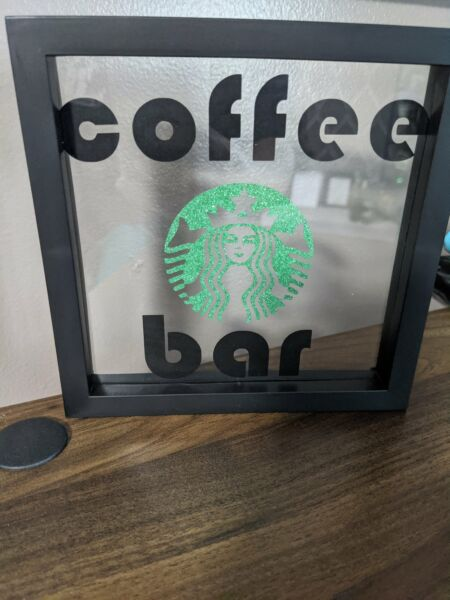 Starbucks Coffee bar decor