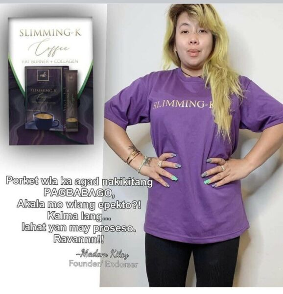 3 BOXES $60 SLIMMING K Coffee By Madam Kilay Free Shipping