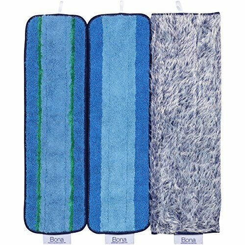 Bona Multi Surface Floor Microfiber Cleaning Pads 3 Count