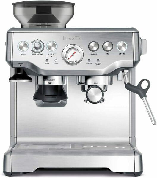 Breville BES870XL Barista Express Espresso Machine Brushed Stainless Steel