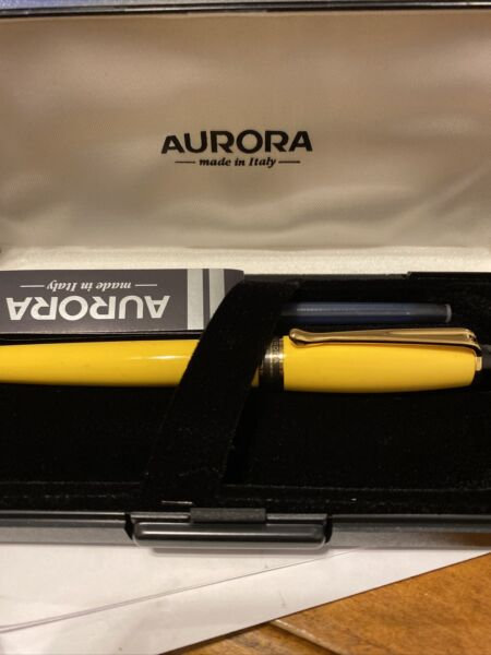 Aurora Fountain Pen Made In Italy