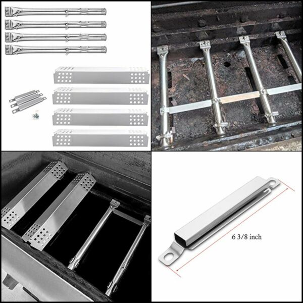 Replacement Parts Kit for Charbroil 4 Burner BBQ Gas Grill Burner Tube PipeHeat