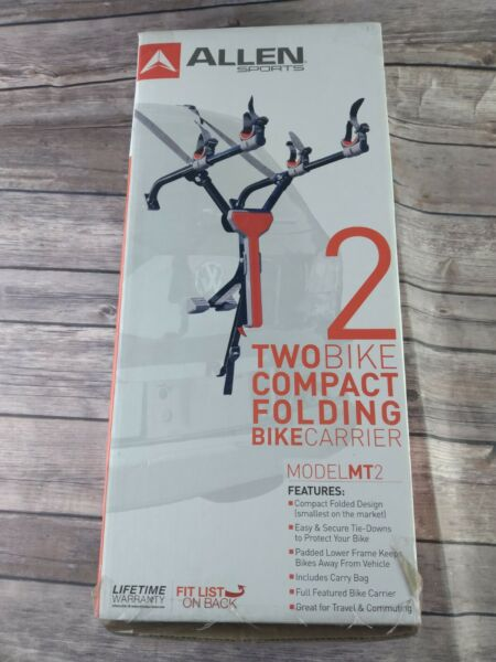 Allen Sports Model MT2 Two Bike Compact Folding Bike Carrier $45.00