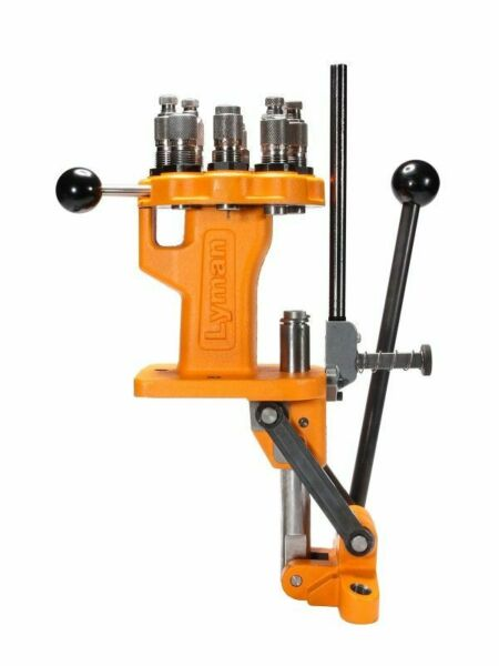 Lyman Brass Smith All American 8 Turret Press Orange 7040750 Reloading Press