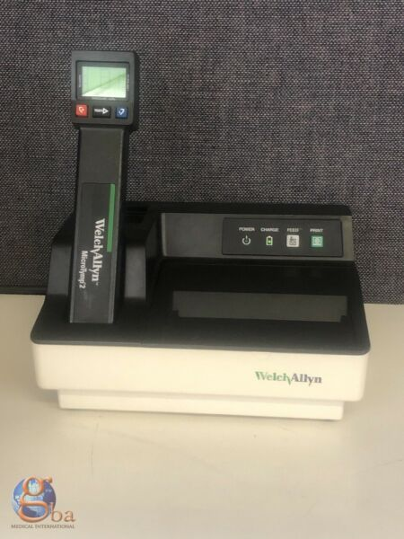 Welch Allyn MicroTymp 2 Tympanogram Tympanometer Printer Charger 23640 71170