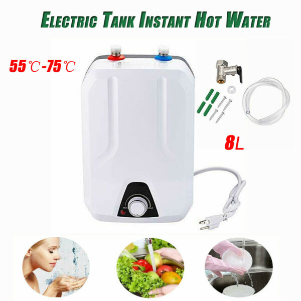 Instant Hot Water Heater Electric Tank On Demand House Shower Sink 110V 60HZ $92.19