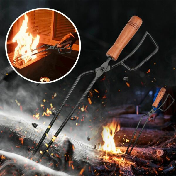 Barbecue Carbon Clip Ergonomics Durable Cooking Tong Salad Charcoal Clamp Meat $31.99